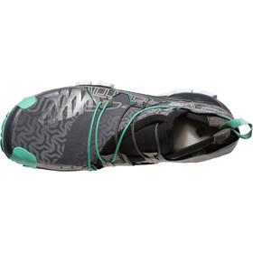 La Sportiva Unika Running Shoes Women Carbon/Jade Green